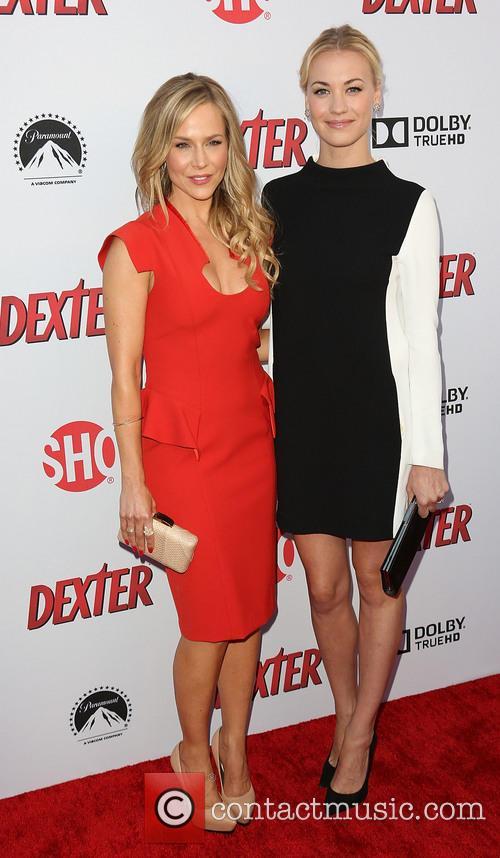 Julie Benz and Yvonne Strahovski 1