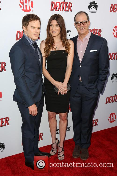 Michael C. Hall, Jennifer Carpenter and David Nevins 3