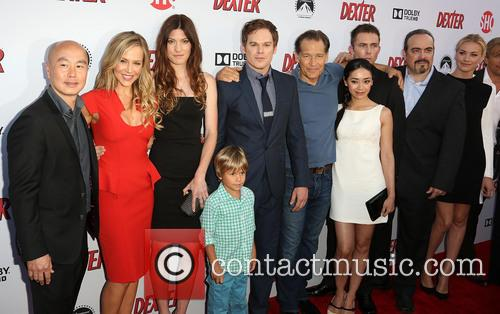 C.s. Lee, Julie Benz, Jennifer Carpenter, Luke Andrew Kruntchev, Michael C. Hall, James Remar, Aimee Garcia, Desmond Harrington, David Zayas and Yvonne Strahovski 2