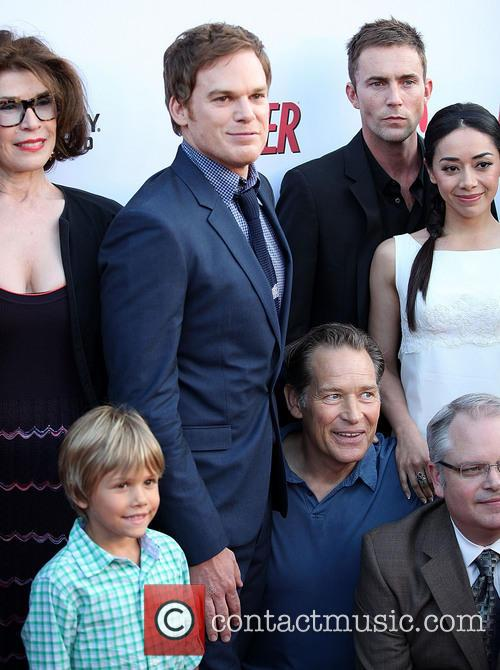 Sara Colleton, Luke Andrew Kruntchev, Michael C. Hall, James Remar, Desmond Harrington, Aimee Garcia and Manny Coto 3