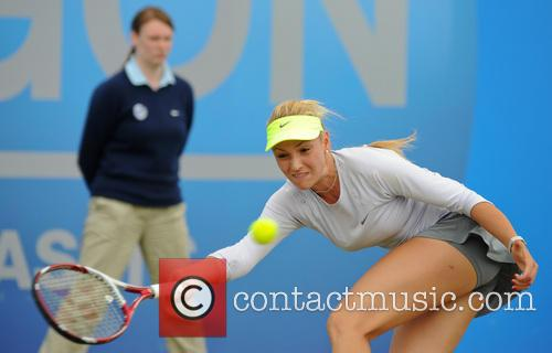 Tennis and Donna Vekic 2