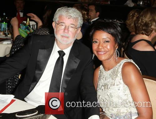 George Lucas and Mellody Hobson 2