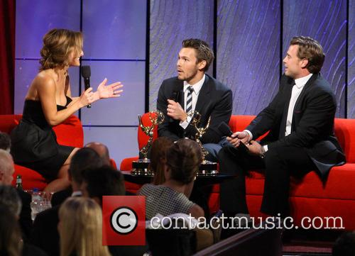 Giada De Laurentiis, Scott Clifton and Billy Miller 2