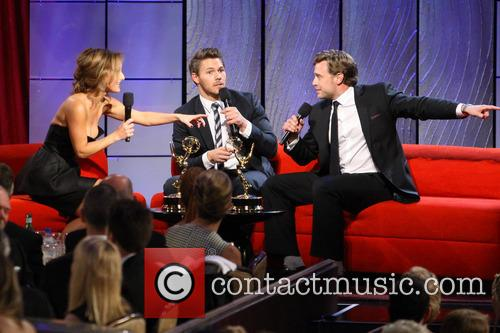 Giada De Laurentiis, Scott Clifton and Billy Miller 3