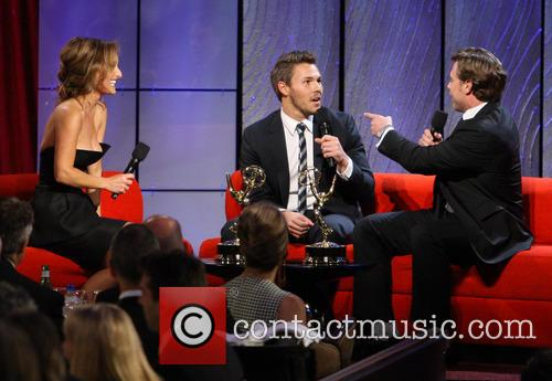 Giada De Laurentiis, Scott Clifton and Billy Miller 1