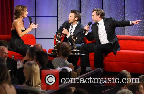 Giada De Laurentiis, Scott Clifton and Billy Miller 5