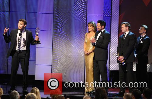 Scott Clifton, Nancy Lee Grahn, Don Diamont, The Beverly Hilton, Daytime Emmy Awards, Emmy Awards, Beverly Hilton Hotel
