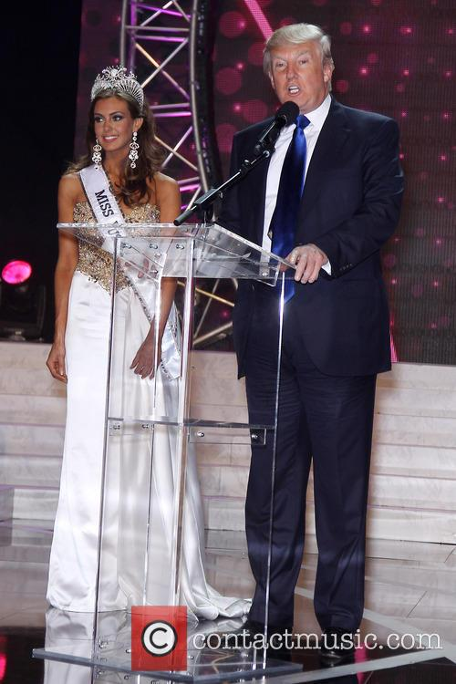 Erin Brady 2013 Miss Usa and Donald Trump 3