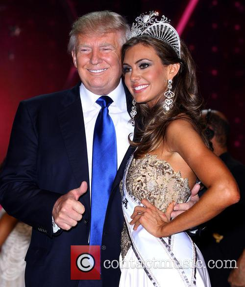 Erin Brady 2013 Miss Usa and Donald Trump 4