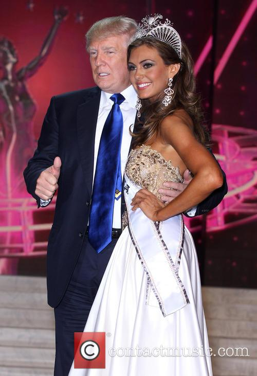 Erin Brady 2013 Miss Usa and Donald Trump 5
