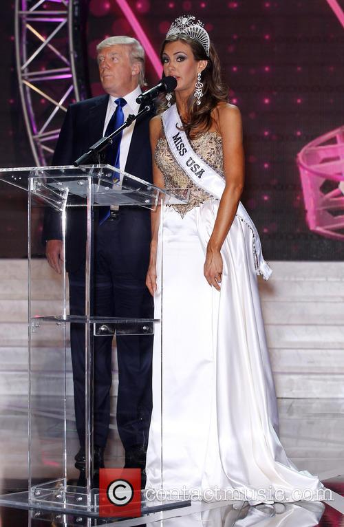 Erin Brady 2013 Miss Usa and Donald Trump 6