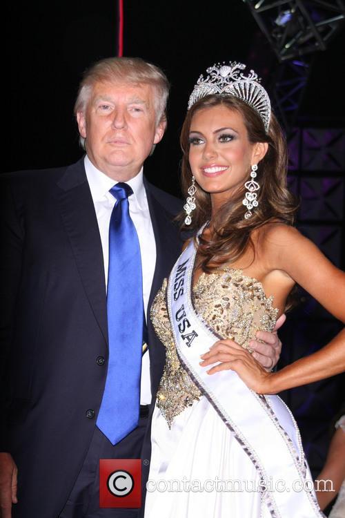 Miss Usa 2013 Erin Brady and Donald Trump 2