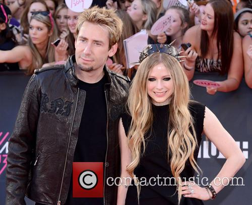 Chad Kroeger and Avril Lavigne 3