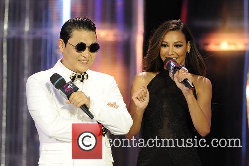 Psy and Naya Rivera 3