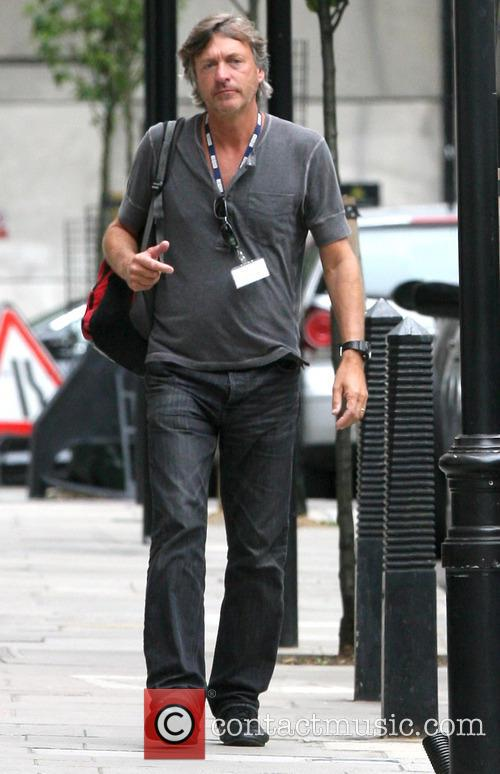 Richard Madeley out and about