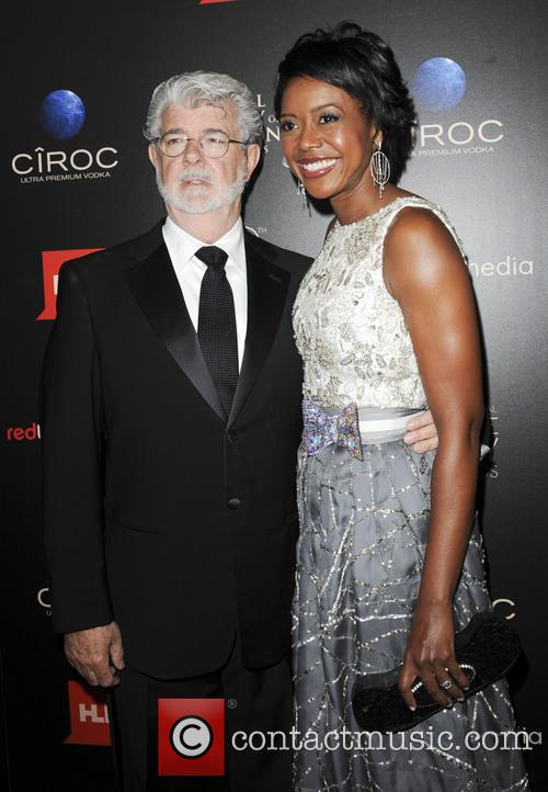George Lucas and Mellody Hobson 8