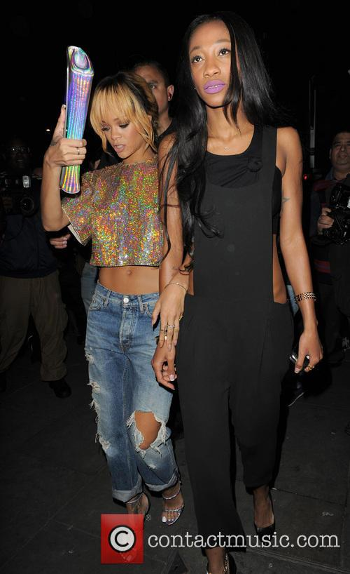 picture rihanna and melissa forde at boujis london united kingdom. Cars Review. Best American Auto & Cars Review