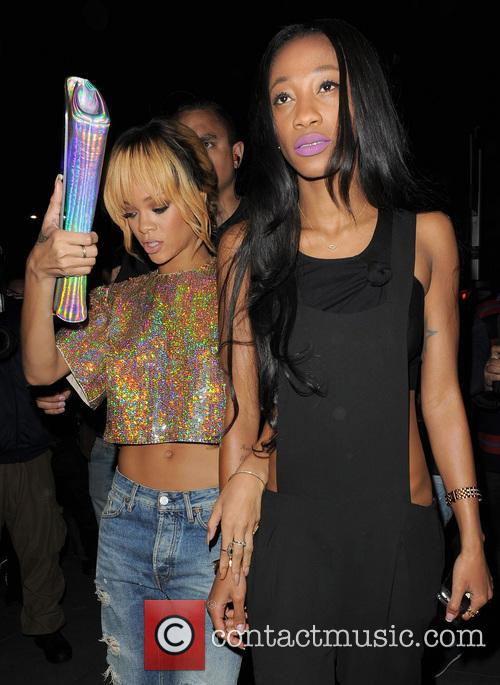 Rihanna, Melissa Forde, Boujis
