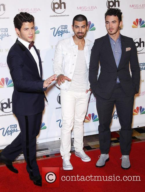 Nick Jonas, Joe Jonas, Kevin Jonas and Jonas Brothers 2