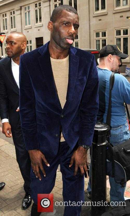 Celebrities at Richard James Fashion Show