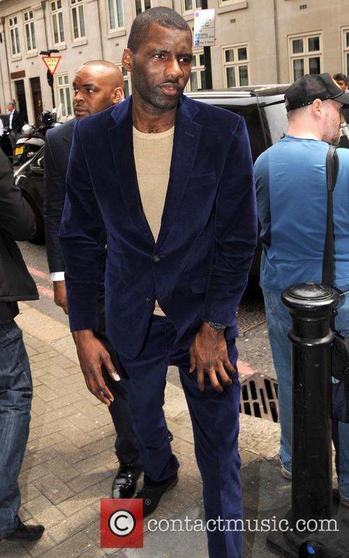 Celebrities at Richard James Fashion Show