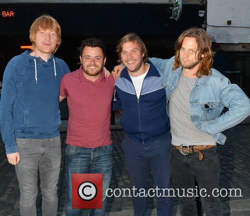 Domhnall Gleeson, Laurence Kinlan, Peter Coonan and Tighe Murphy 2