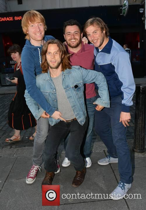 Domhnall Gleeson, Laurence Kinlan, Peter Coonan and Tighe Murphy 1