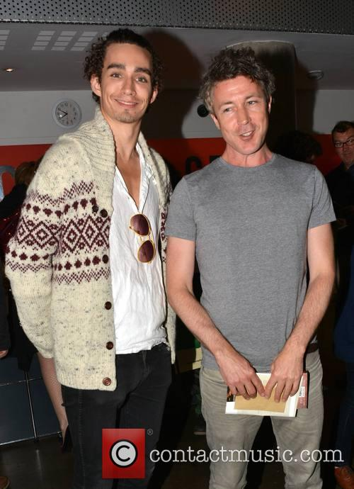 Robert Sheehan and Aidan Gillen 1