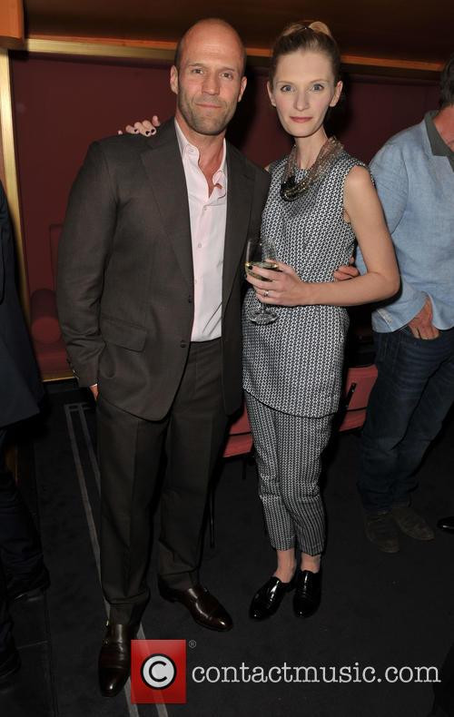 Agata Buzek and Jason Statham 3