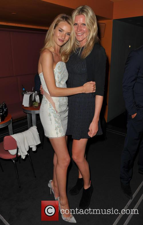 Rosie Huntington-whiteley and Guest 2