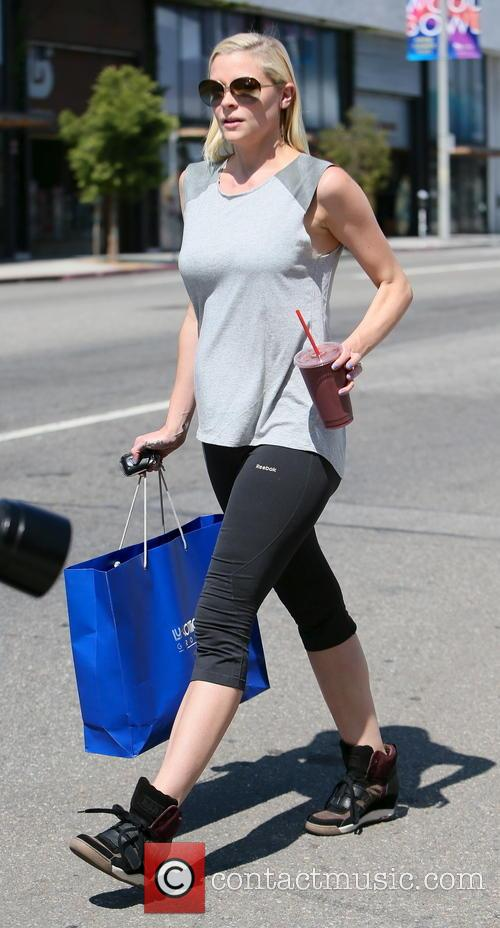 Jaime King seen at her pilates class