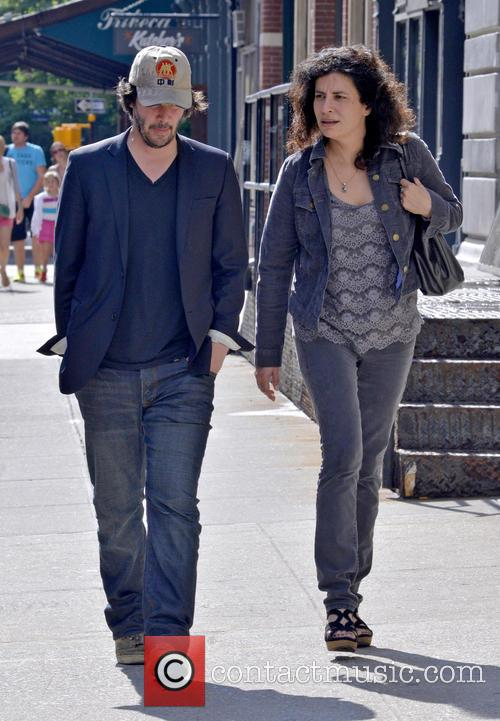 Keanu Reeves seen out and about