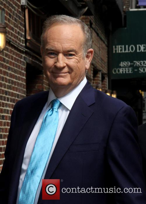 Bill O'Reilly at Ed Sullivan Theater The Late Show