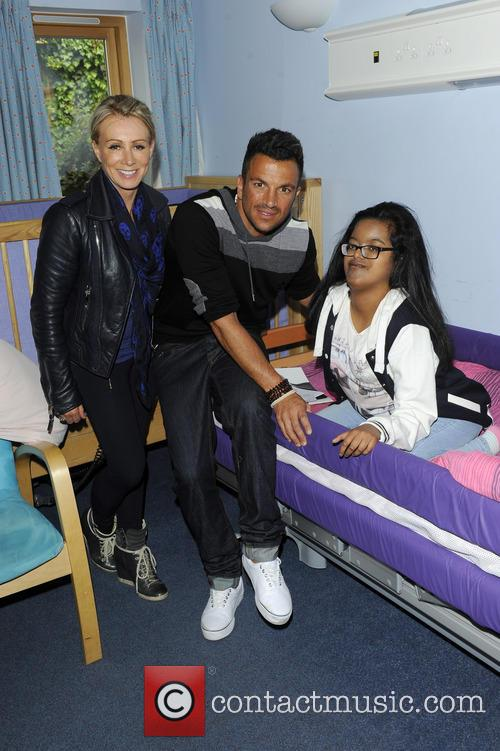 Karen Millen and Peter Andre 9