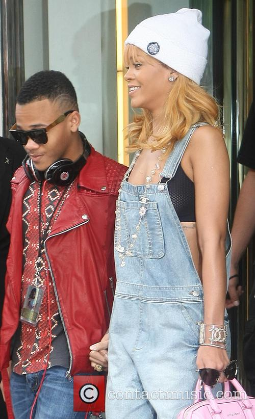 Rihanna and Rajad Fenty 2