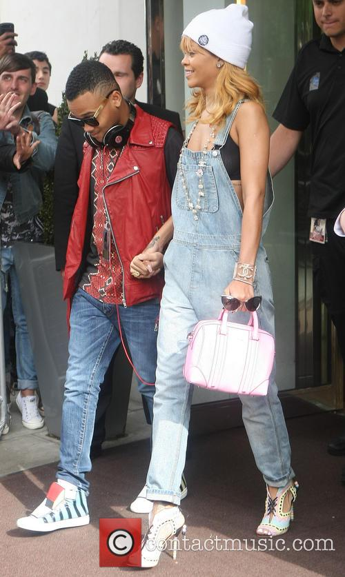 Rihanna and Rajad Fenty 3