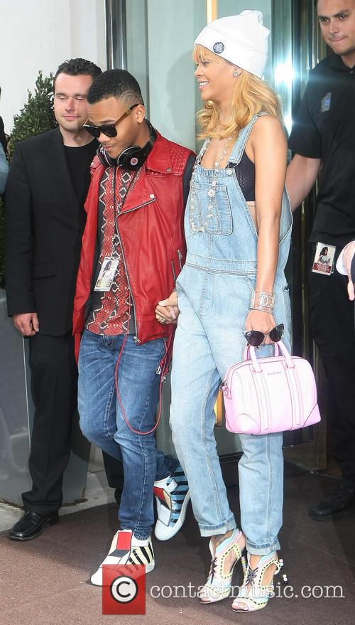 Rihanna and Rajad Fenty 4