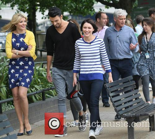 Holly Willoughby, Rylan Clark, Emma Willis and Phillip Schofield 5