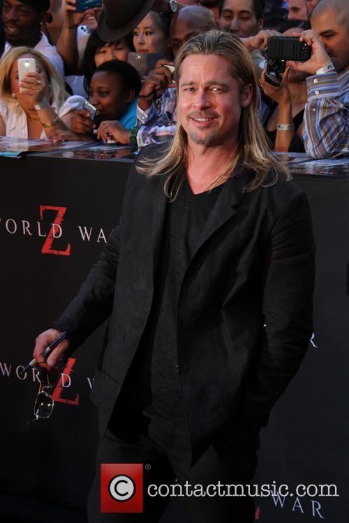 Brad Pitt, Times Square