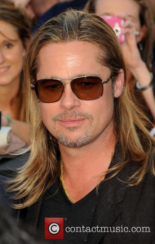 Brad Pitt, World War Z Premiere
