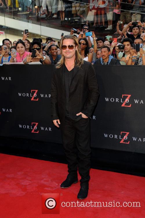 New York premiere of 'World War Z'