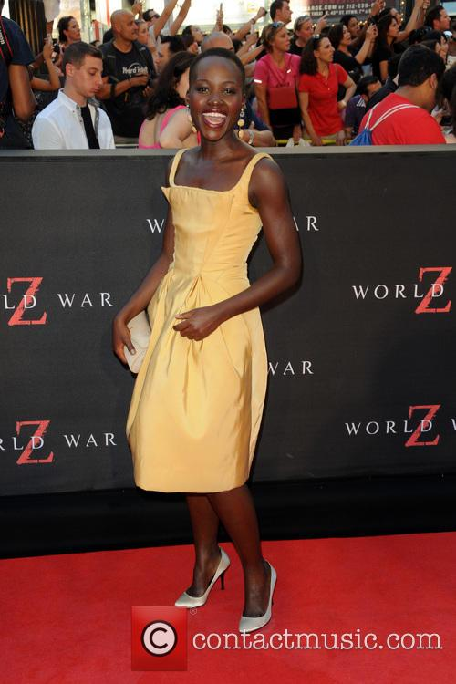 Lupita Nyong'o, World War Z Premiere
