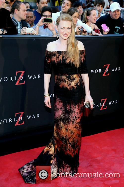 Mireille Enos, World War Z Premiere