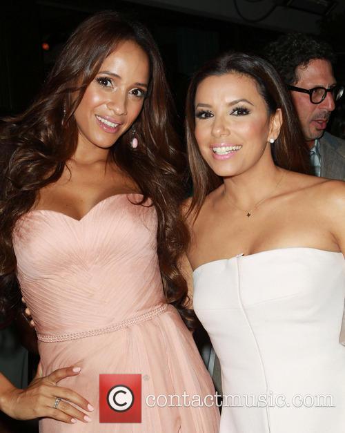 Dania Ramirez and Eva Longoria 5