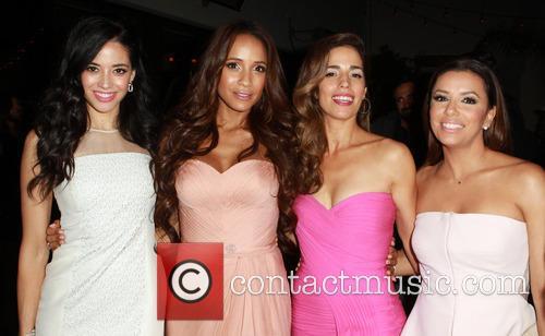Edy Ganem, Dania Ramirez, Ana Ortiz and Eva Longoria 6