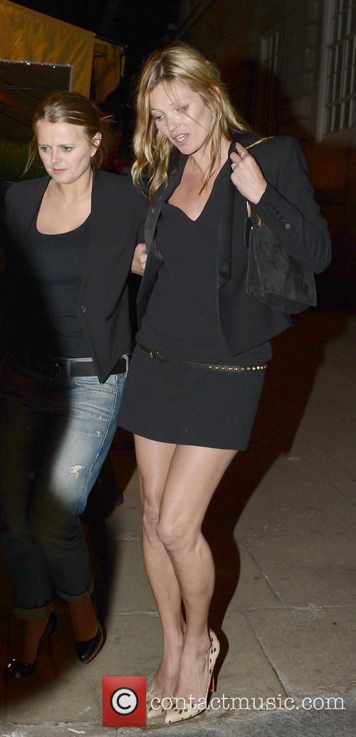 Kate Moss Leaving Loulou's