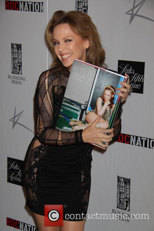 Kylie Minogue Book Launch