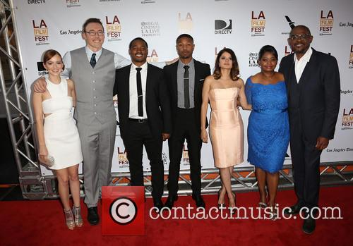 Ahna O'reilly, Kevin Durand, Ryan Coogler, Michael B. Jordan, Melonie Diaz, Octavia Spencer and Forest Whitaker 9