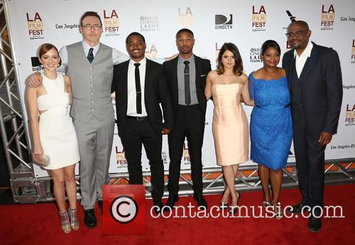 Ahna O'reilly, Kevin Durand, Ryan Coogler, Michael B. Jordan, Melonie Diaz, Octavia Spencer and Forest Whitaker 10