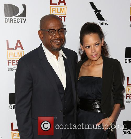 Forest Whitaker and Keisha Whitaker 4